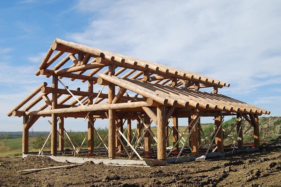 Log Post & Beam Construction