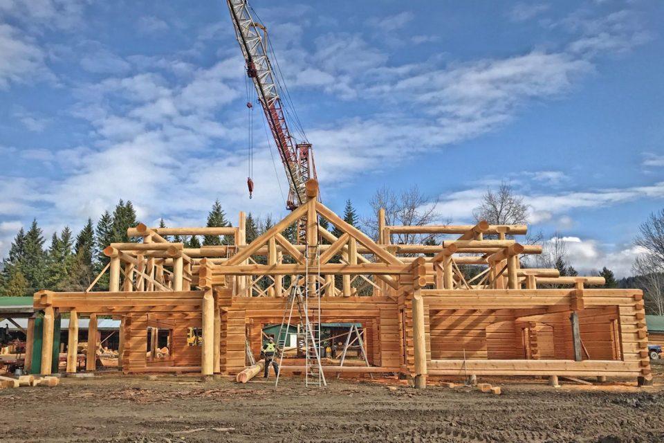 Dovetail Log House