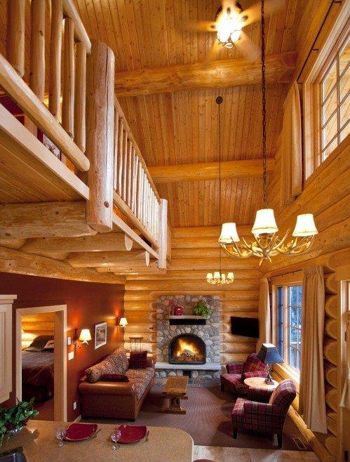 Family Log Cabin & Loft