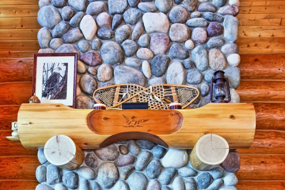 Log Cabin Custom Mantle