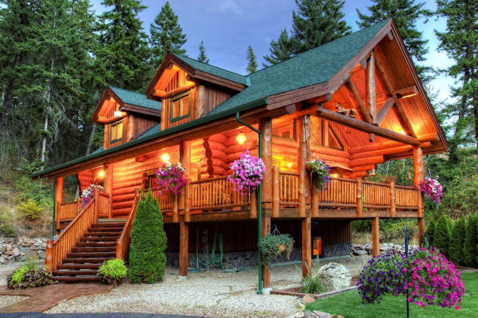 Log Cabin Dream Home