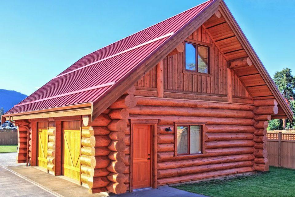 Log Cabin Garage