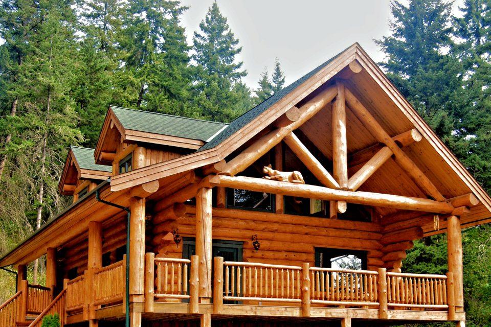 Log Cabin Home a