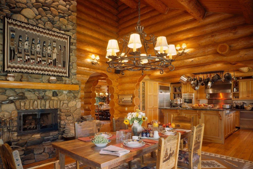 Western Therme Log Dining